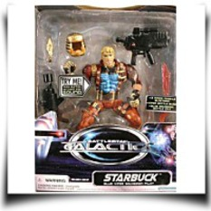 6 Starbuck Action Figure