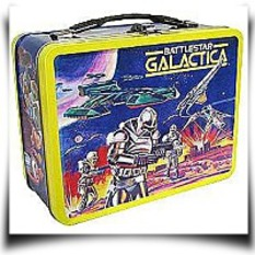 Specials Battlestar Galactica Retro Tin Tote Wfigures