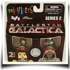 Specials Minimates 2PACK Athena And Cylon Centurion